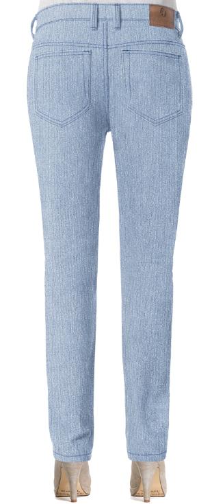 Damen Straight Jeans für kleine Po's