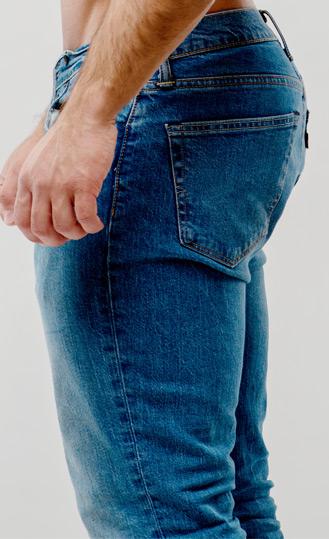 Damen dicke jeans für oberschenkel Hosen für