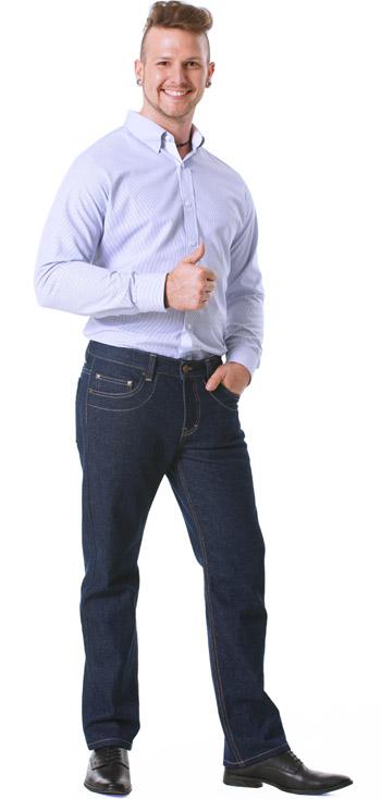 Jeans im Büro Männer